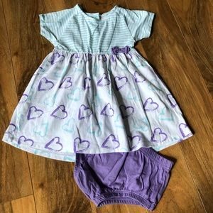 Cute Matching Outfit💜Size 12-18m